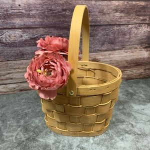 Other - Woven Wooden Basket